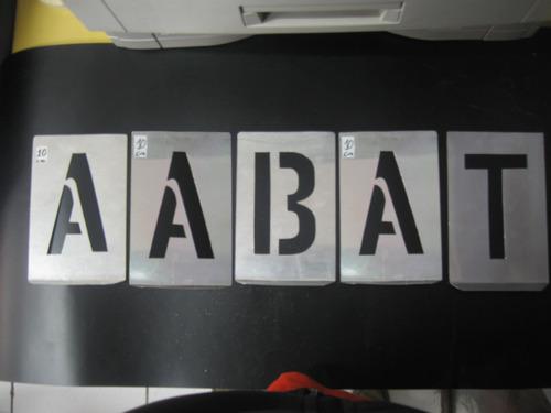 Plantillas Letras Y Numeros Para Pintar En Aerosol En Santiago