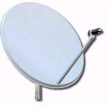 Antenas Satelitales Nuevas X Mayor Con O Sin Lnb (no Chinas)