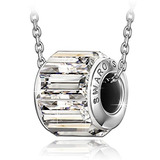 Swarovski  Collar Del Colgante Grabado Qianse  Envío Gratis