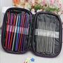 Set 22 Palillo Para Crochet Aluminio