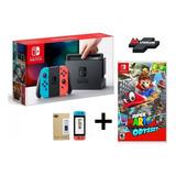 Nintendo Switch Neon + Mario Odyssey Sellado/garantía 1 Año