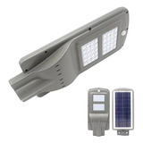 Foco Led Solar Poste Luminaria Panel Sensor 40w   Ml2955
