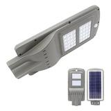 Foco Led Solar Poste Luminaria Panel Sensor 40w   Ml2955
