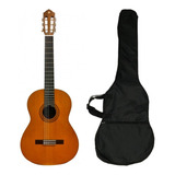 Guitarra Acústica Clásica C40 Yamaha Mas Funda Evzpro