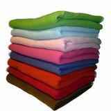 Frazadas De Polar Single (aplica Para 1 Y 1.5 Plaza) Colores