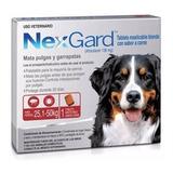Nexgard Perro 25 A 50 Kg Afoxolaner 3 Comp Tps