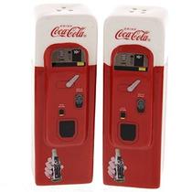 Máquina Expendedora De Coca-cola Colección De Sal Y Pimient
