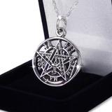 Colgante Tetragramaton Tetragrammaton De Plata Nacional Fina