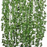 Pack 24 Tiras Planta Artificial Enrredadera 2.1m Decoración