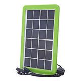 Kit Solar Camping Panel Solar Cargador Para Celulares Portat