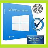 Licencia Windows 10 Pro Licencia Original Microsoft