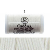 Hilo Cadena Blanco, Coats 100 Ys
