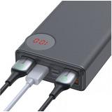 Batería Externa Carga Rapida Led 30.000mah Pd3.0 + Qc3.0 33w