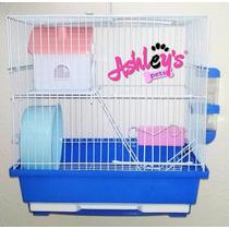 Jaula Hámster 2 Pisos - Ashley´s Pets
