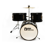Batería Kid Pro Drums Prd01-bk + Baquetas De Obsequio