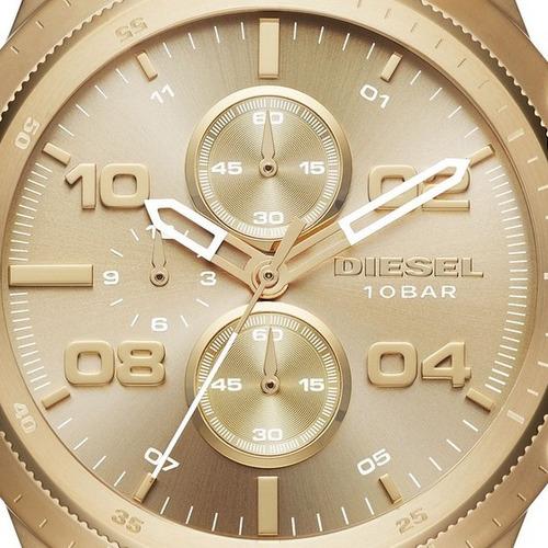 1975ef0f72c7 Reloj Diesel Dz-4441 Gold Dorado Nuevo El Original!!