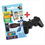 Pendrive Arcade 64 Gb + Joystick Usb + Envío Gratis