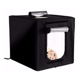 Estudio Set Fotográfico Caja Luz Softbox Portátil 80cmx80cm