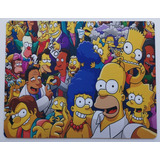 Mouse Pad Personalizado Pc Notebook Gamer Los Simpson