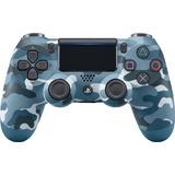 Control Sony Dualshock 4 V2 Ps4 Blue Camouflage Gamewarrior
