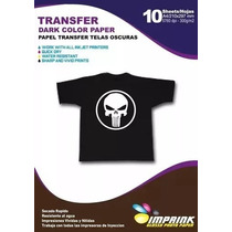 Papel Transfer Premium Telas Oscuras 30 Hojas Envio Incluid