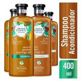 2 Shampoo Herbal Essences Golden Moringa Oil + 2 Aco.