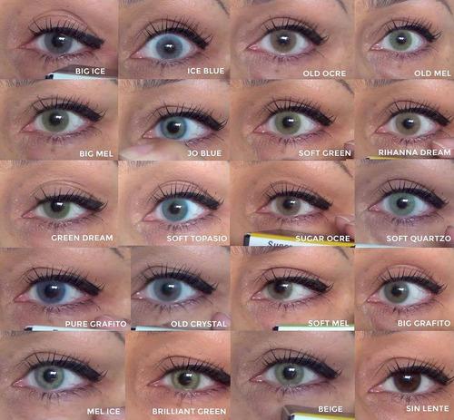 725767288ce3e Lentes De Contacto Jolens Premium 19 Colores Naturales