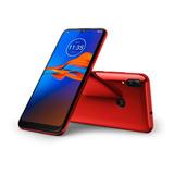 Motorola E6 Plus Cherry Red Rom 32gb Ram 2gb