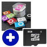 Combo Mp3 + Microsd 8gb / Mundo Electro