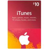 Itune Card 10 Usd Codigo Digital