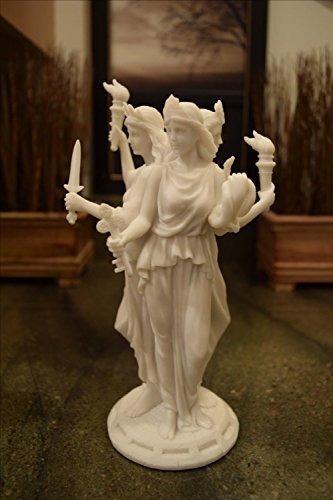 Hecate Diosa Griega De Magia Y Brujería Estatua Escultura...