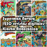 Superman  Editorial  Novaro 1250 Revistas Antiguas.