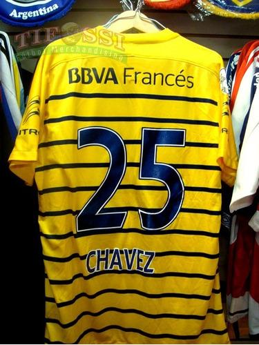 8840b57da4 Boca Juniors Camiseta Oficial Copa 2016 - Recambio -tifossi