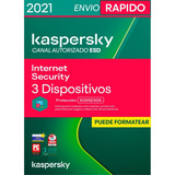 Kaspersky Internet Security 3 Pc 1 Año Licencia Original