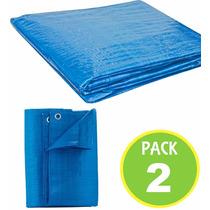 Pack 2 Cubierta Lona Multiuso Carga 6x6 Mts 62747/ Fernapet