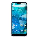Nokia 7.1 Azul Liberado 64gb Ram 4gb  - Nokia