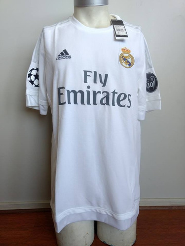 Camiseta Real Madrid 2015-2016 Titular Ed. Champions League 1e0bcc8340dac