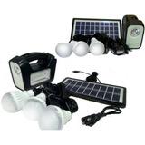 Pack 4  Kit Solar Emergencia 220v Ampolletas 36 Hrs Ml2965