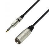 Adam Hall K3bmv0300 - Cable Micrófono Xlr Macho A Plug Stere