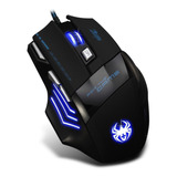 Mouse Gaming Zelotes Con Cable 7 Keys 7200 Dpi T-80
