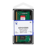 Memoria Kingston 8gb 2400mhz Ddr4 Sodimm - (kcp424ss8/8)