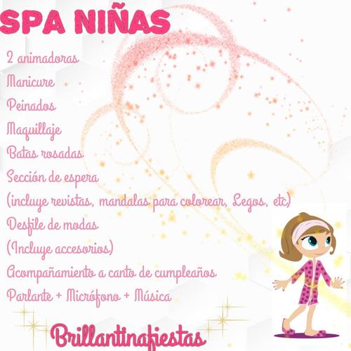 fb821272c Spa para Niñas - Melinterest Chile