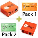 Sigma Box + Pack 1 Y Pack 2 - Repara Imei Libera Desbloquea