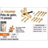 Extractor Tipo Pata Gallo 13pzas Truper - Los Guindos