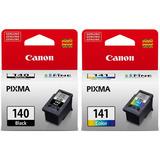 Pack Tinta Canon Pg-140 Y Cl-141 Original Envio Gratis - We
