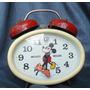 Reloj Vintage Cuerda Mickey Mouse Disney Germany Funcionando segunda mano  Valparaiso