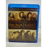 Coleccion Señor De Los Anillos - El Hobbit Tlotr Bluray Full