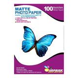 Papel Alta Resolucion  Matte Carta/108g/100 Hojas