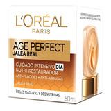 Crema De Día Anti-arrugas Age Perfect Jalea Real 50 Ml