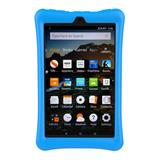 Carcasa Protectora De Silicona Para Amazon Kindle Fire Hd 8
